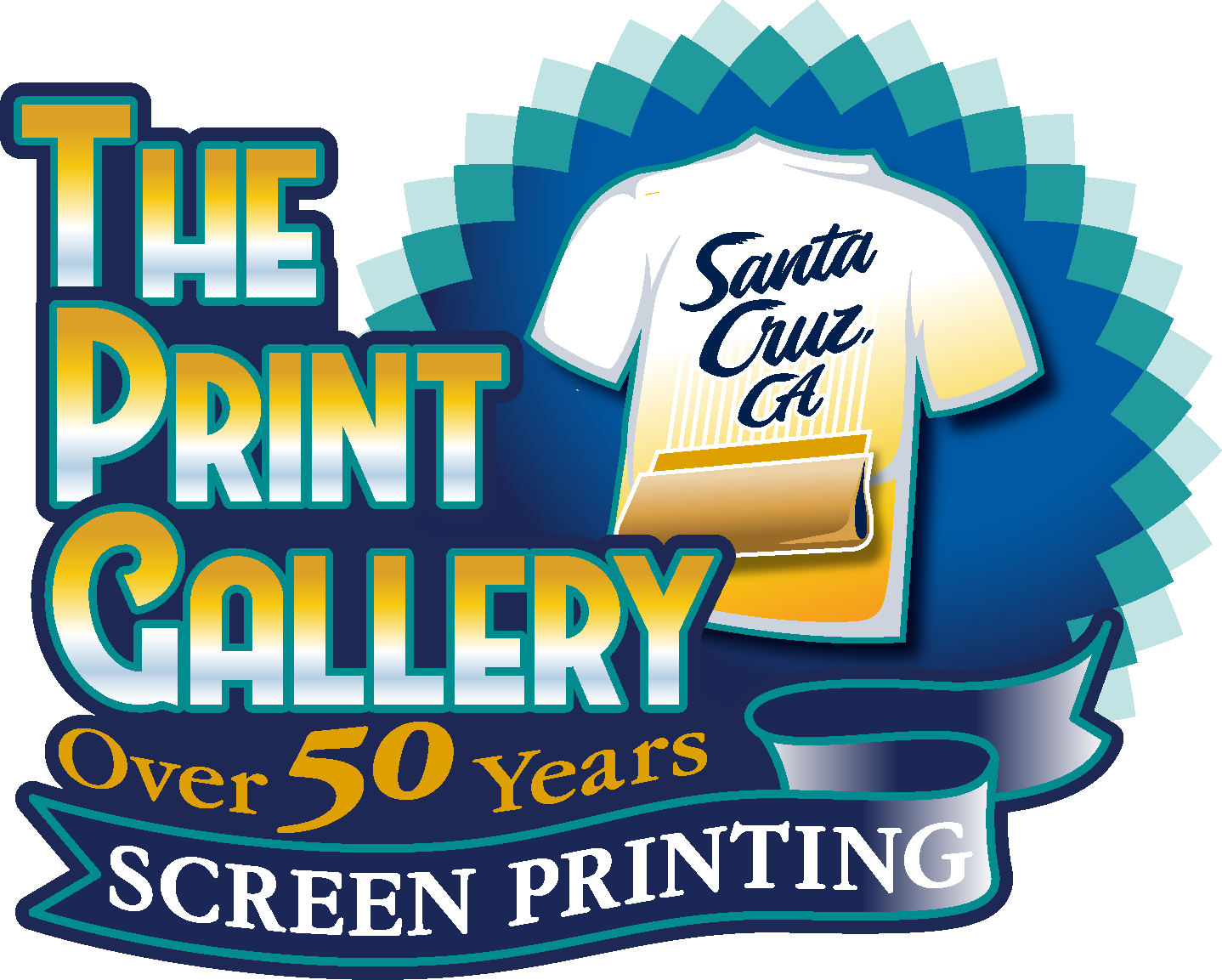 c0f1e15ab Screen Printing T Shirts & Embroidery Services in Santa Cruz CA by The Print  Gallery